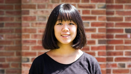 Amy Zhang '17, Stamps Scholar